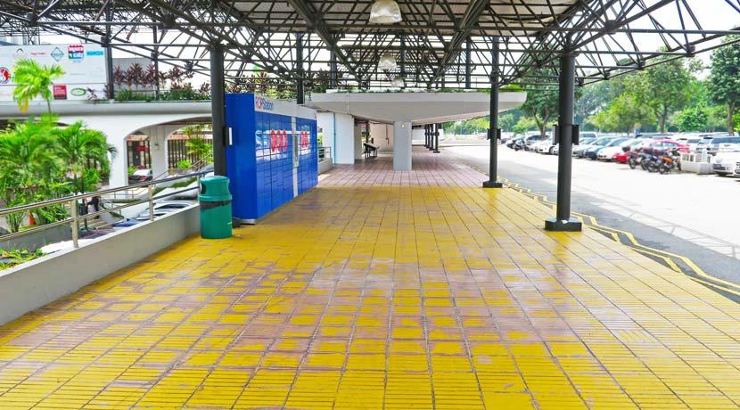 The Grandstand (Sheltered Atrium)