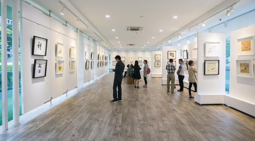 D Art Exhibition Singapore : Visual arts centre exhibition gallery dhoby ghaut find