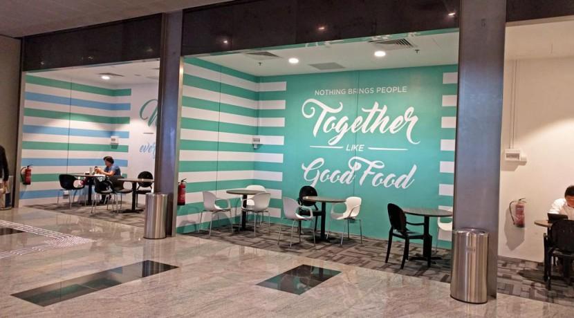 Shop unit at Tanjong Pagar Centre