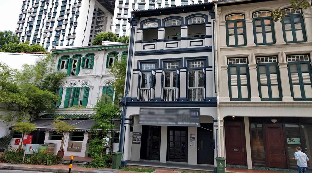 Street Level shophouse unit at Duxton Hill area