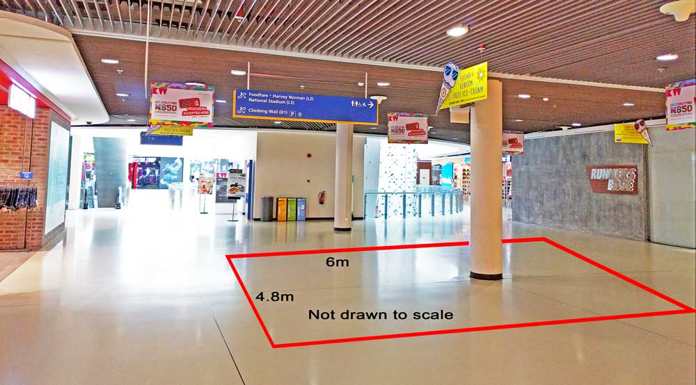 Kallang Wave Mall Level 1 Roadshow Space