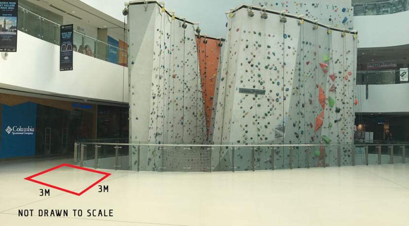 Kallang Wave Mall Rock Climbing Wall