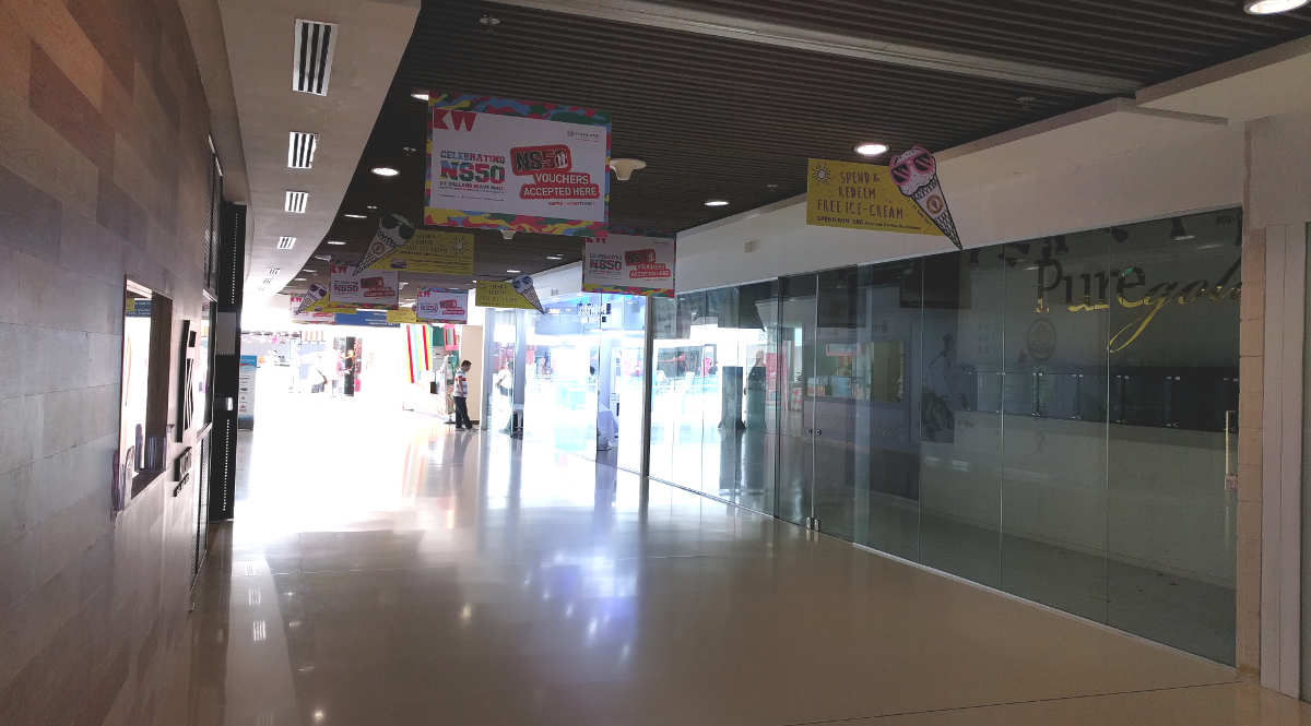 Kallang Wave Mall Level 2 Shop Space