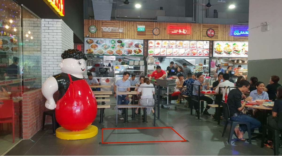 Toh Guan Road Food Court Bistro Roadshow Space