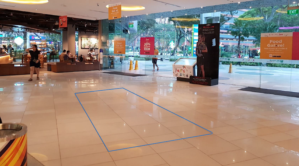 KINEX Level 1 event space at main entrance