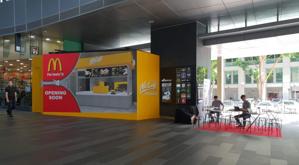 The Metropolis Event Space (Next to entrance of Buona Vista MRT)