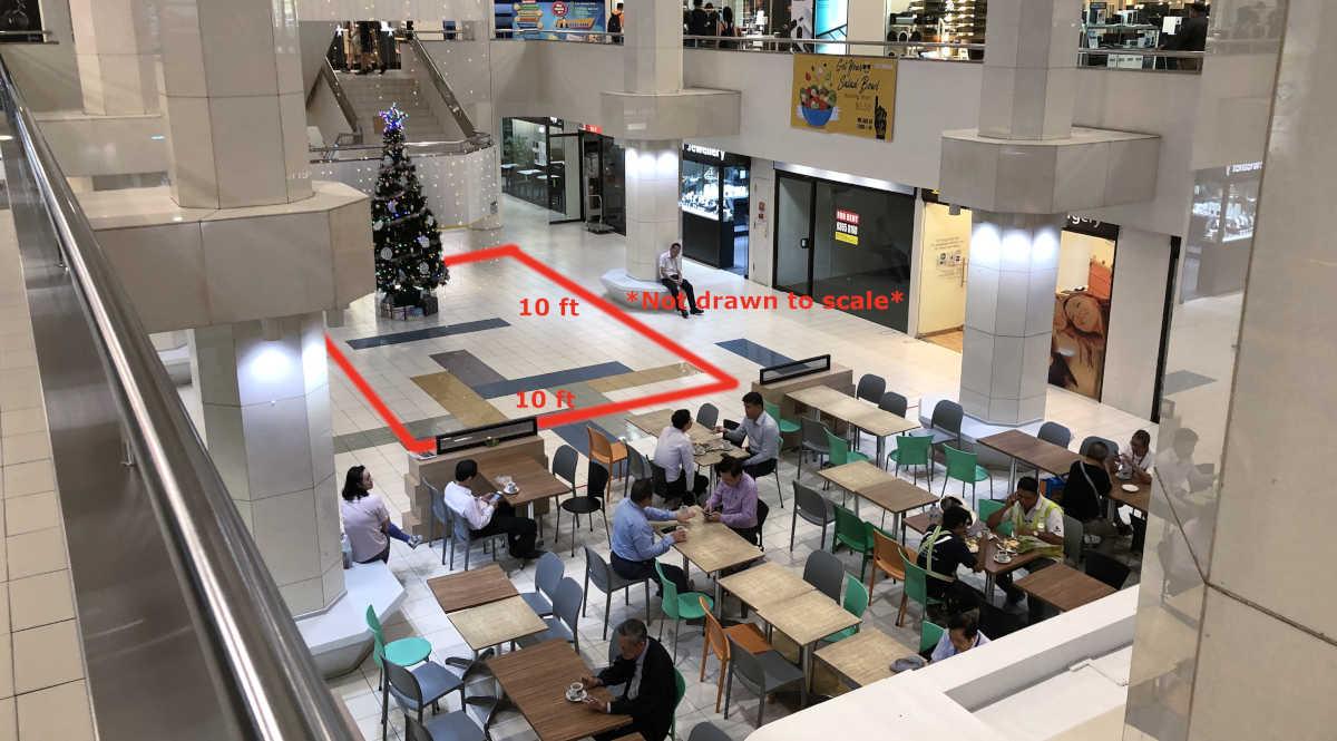 Adelphi Indoor B1 Atrium Space