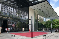 Orchard road roadshow and event space