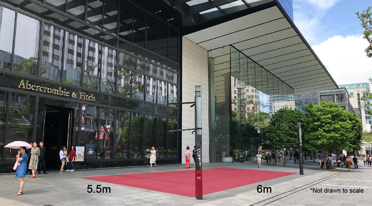 Orchard Road Street Level Event Space