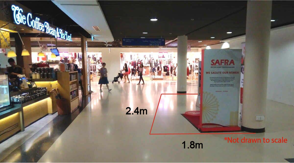 Kallang Wave Mall Level 1
