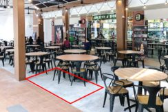 Tampines food court bistro roadshow space