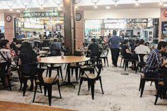 Roadshow space in Tampines food court bistro