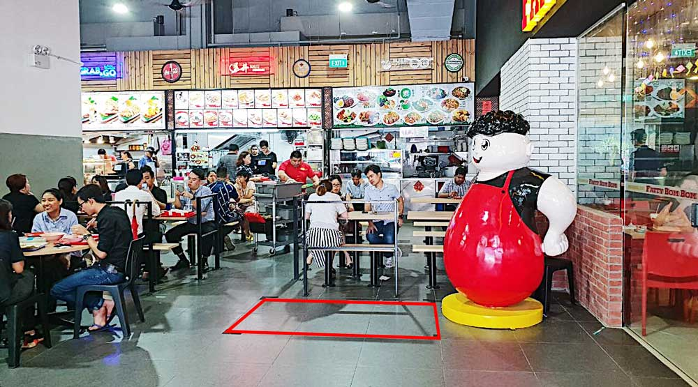 Toh Guan Road (Jurong East) Food Court Bistro Roadshow Space