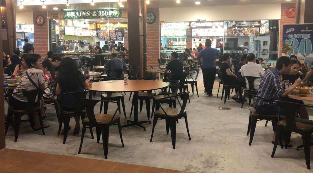 Tampines Food Court Bistro Roadshow Space