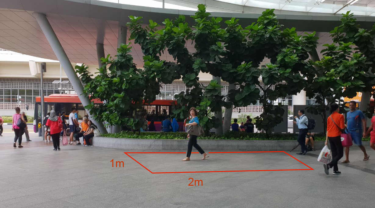 Bedok Mall – Outdoor Roadshow Space (Beside Bus Interchange)