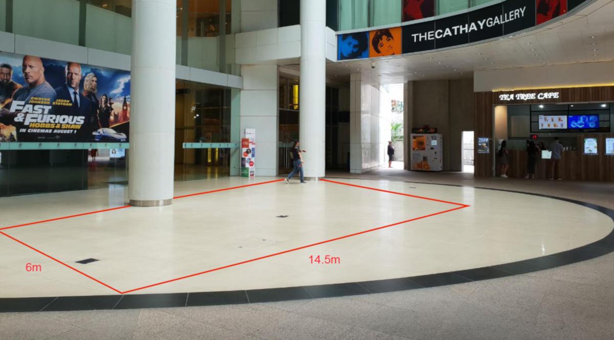 The Cathay Level 1 – External Atrium