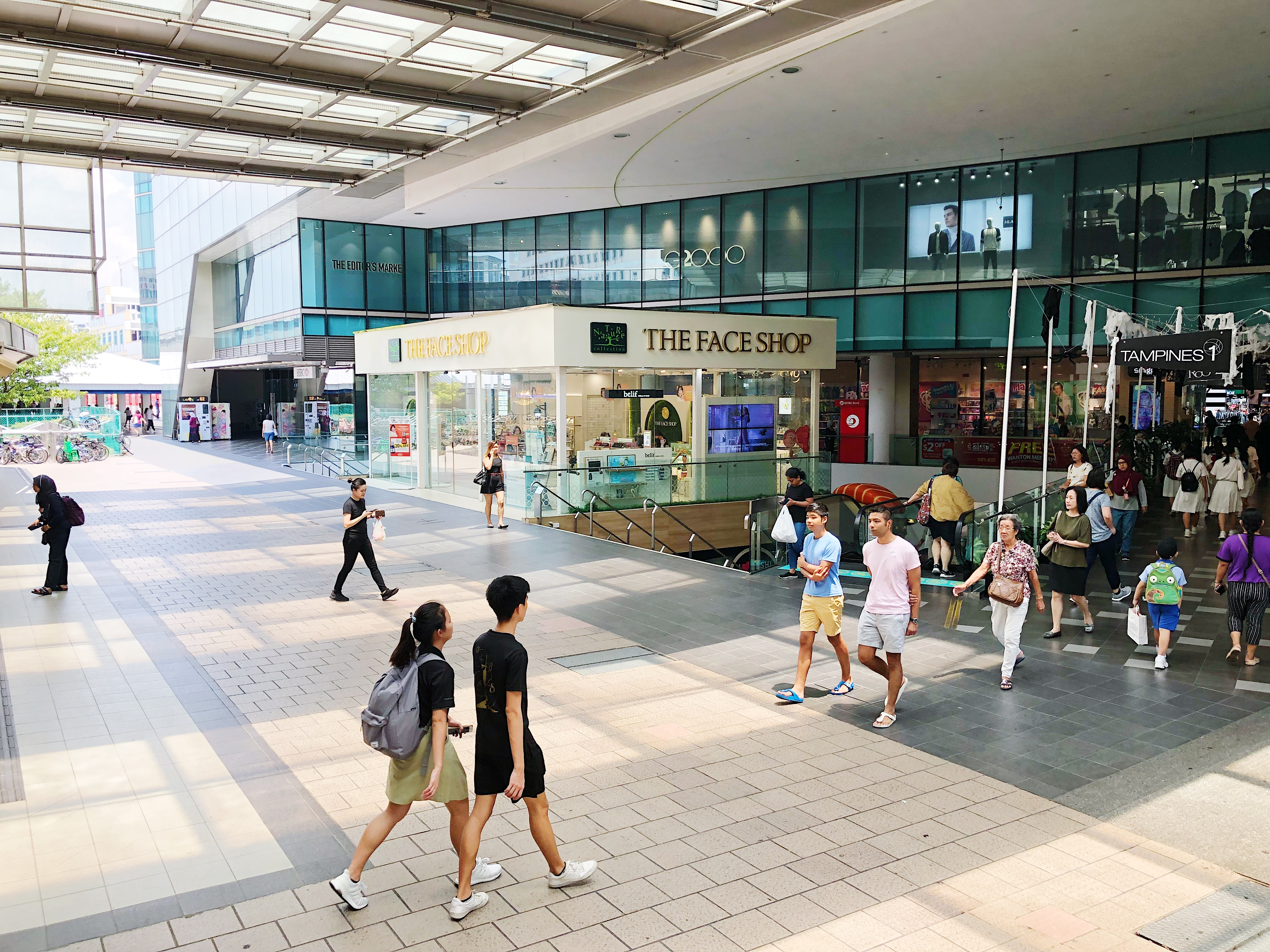 Tampines 1 Opposite MRT entrance Roadshow Space