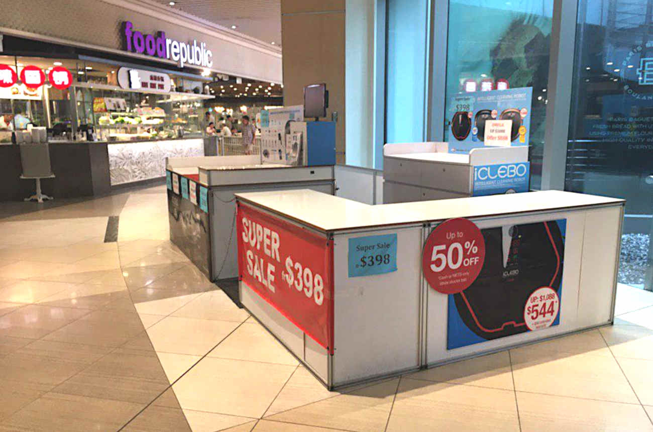 Suntec City Fountain Booth Space (FOW)