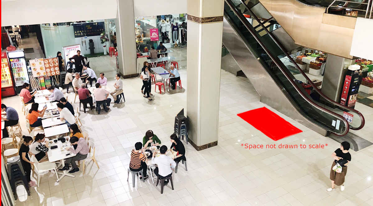 Sultan Plaza L1 Atrium Space