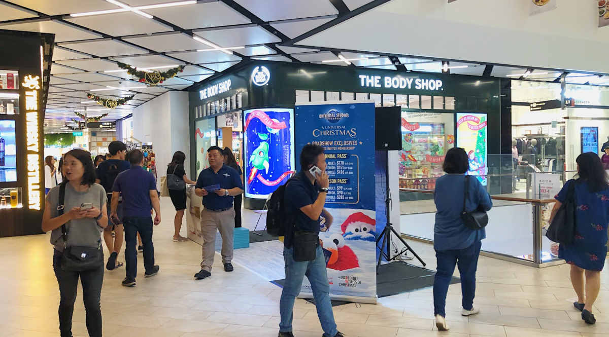 Paya Lebar Quarter L1 East event space
