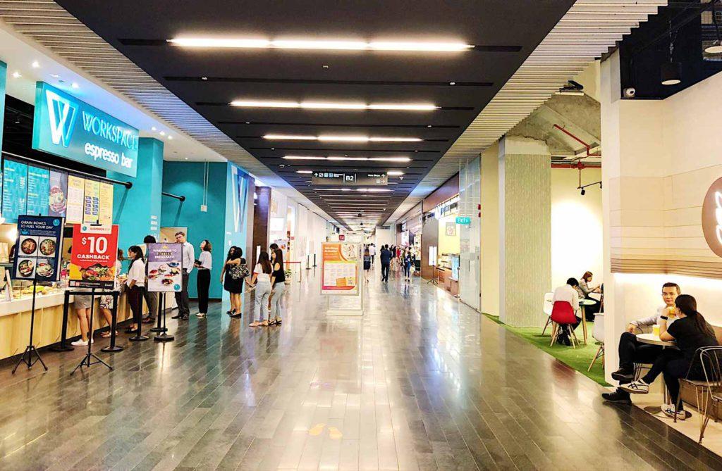 Marina One shop unit