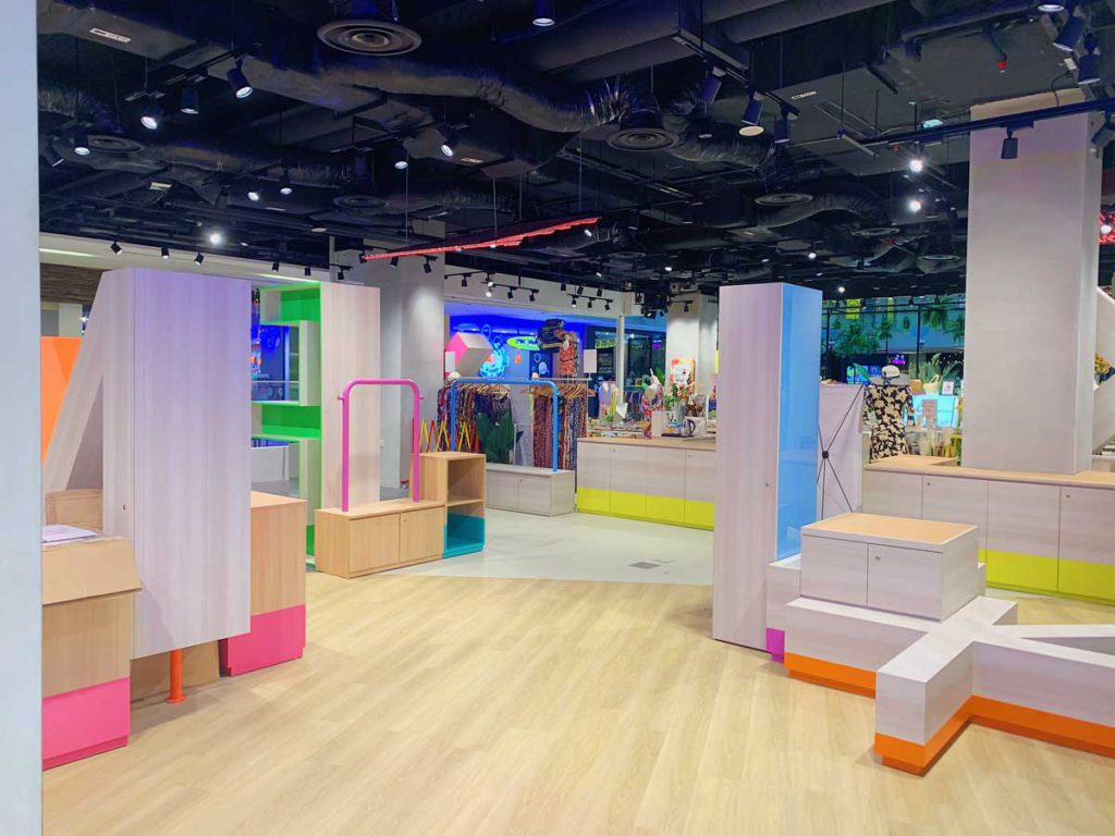 Kinex experiential retail space