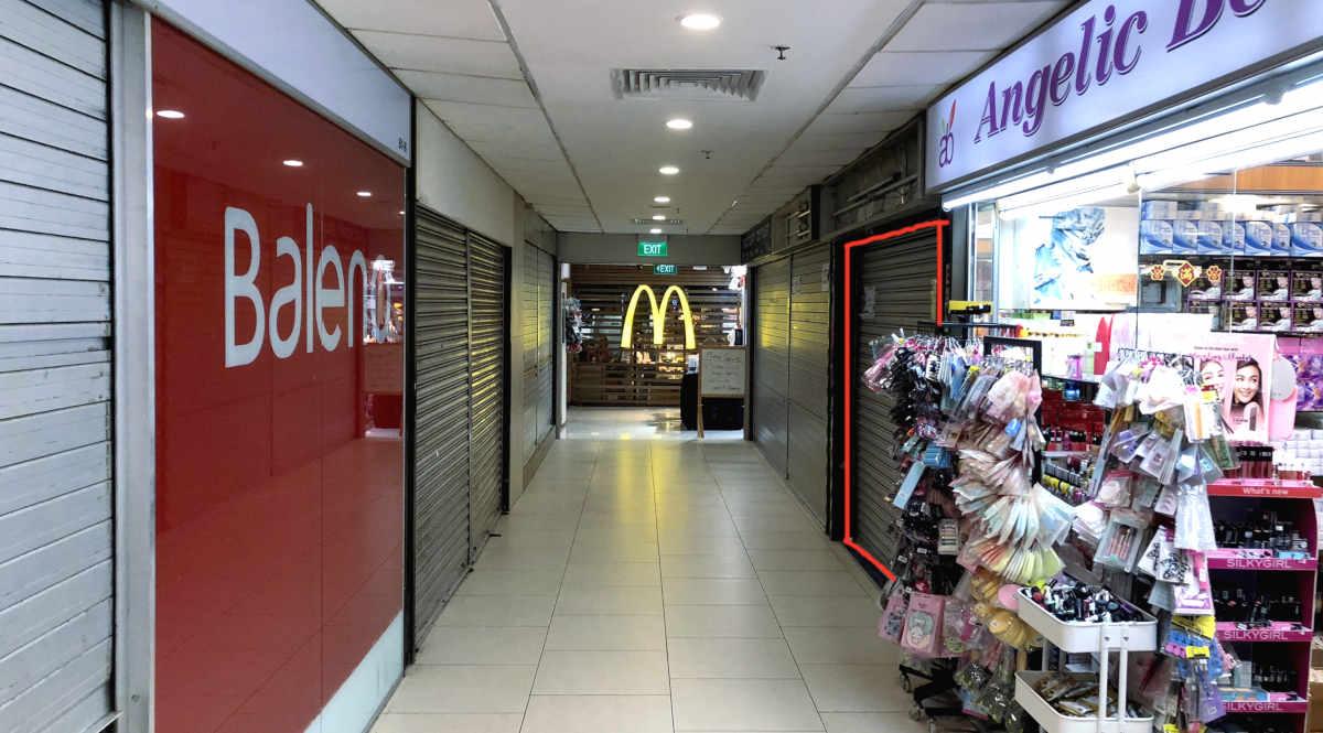 Lucky Plaza B1 Shop Unit